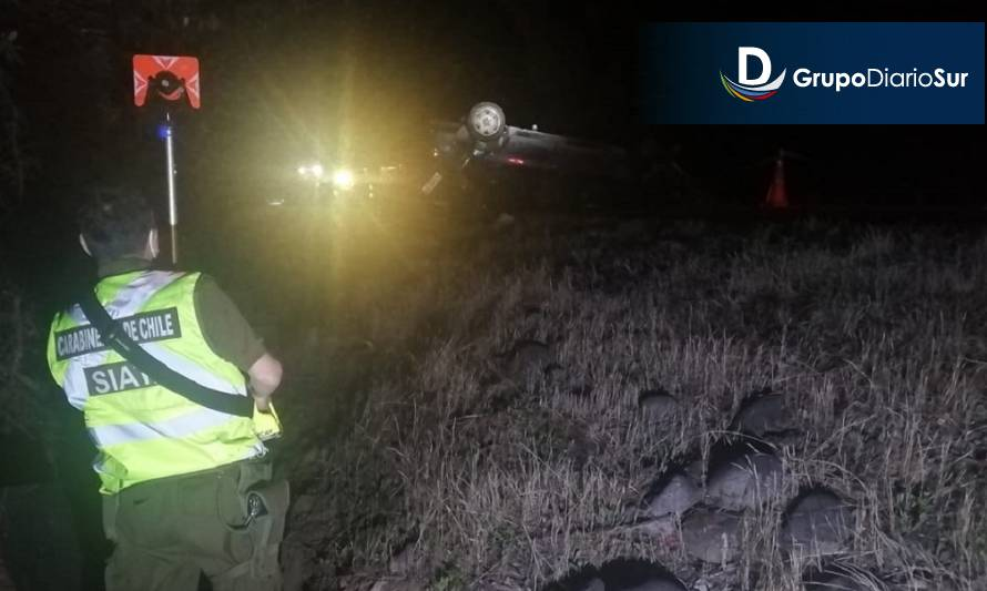 Un fallecido en accidente vehicular en Panguipulli
